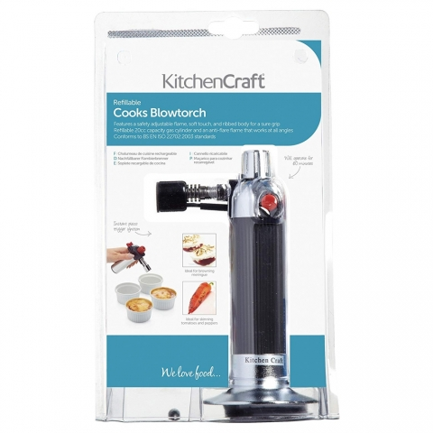 Chalumeau Cook's Blowtorch KITCHENCRAFT KCBLOWTORCHCP