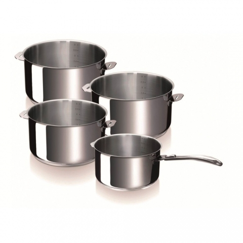 Série de 4 casseroles Evolution BEKA 14/16/18/20cm