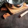 Anses amovibles Casteline en bois de noyer CRISTEL