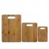 Ensemble de 3 planches à découper en bambou F&H 224391