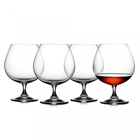 Set de 4 verres à cognac 69 CL F&H 916207