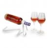 Porte bouteille ruban blanc VINOLEM 14178