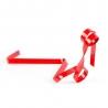 Porte bouteille ruban rouge VINOLEM 14176