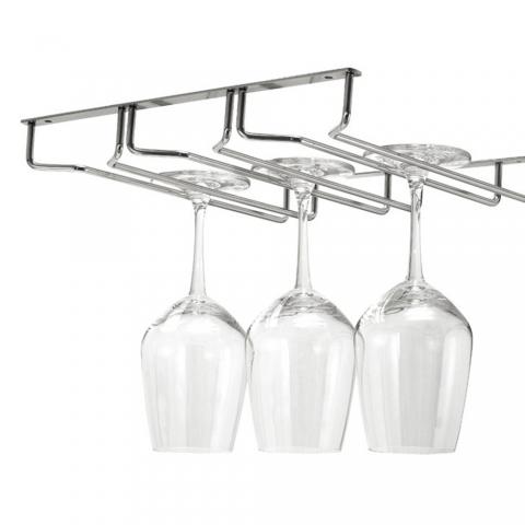 Rack à verres à pieds 3 glissières VINOLEM 38204