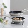 Poêle Foodie inox revêtue 24 CM LACOR 45324