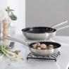 Poêle Foodie inox revêtue 20 CM LACOR 45320