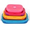 Lot 4 boîtes hermétiques rétractables Color DURANDAL BOXCYK-LOTNG