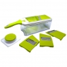 Mandoline avec récipient Verte BAUMALU 450280
