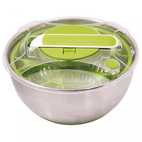 Essoreuse saladier Vert inox BAUMALU 450304