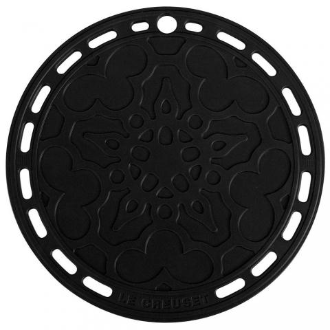 Dessous de plat Noir en silicone LE CREUSET