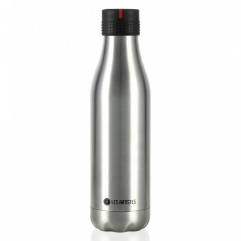 Bottle'Up 500 ML Metallic Argent LES ARTISTES PARIS A-2020