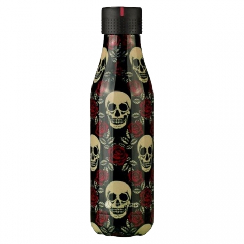Bottle'Up 500 ML Tête de Mort LES ARTISTES PARIS A-8133