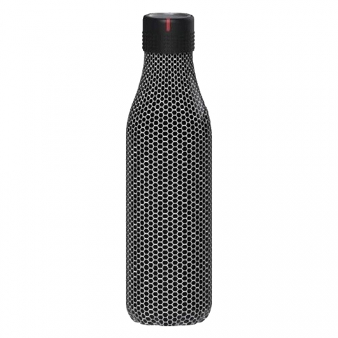 Bottle'Up 500 ML Black Métal LES ARTISTES PARIS A-8137