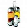 Set vinaigrier huilier salière et poivrière IBILI 768500