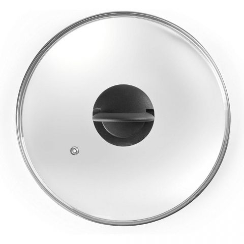 Couvercle en verre 32 CM avec poignée pliante IBILI 970932