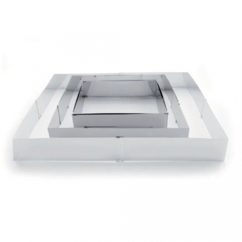 Moule extensible rectangulaire inox IBILI 790600
