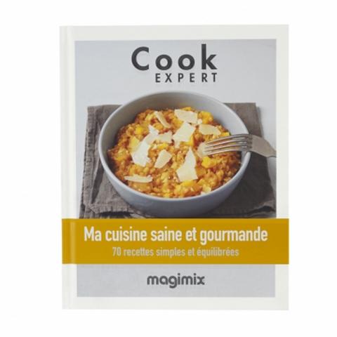 """Livre recettes """"Ma cuisine saine et gourmande"""" MAGIMIX 461154"""