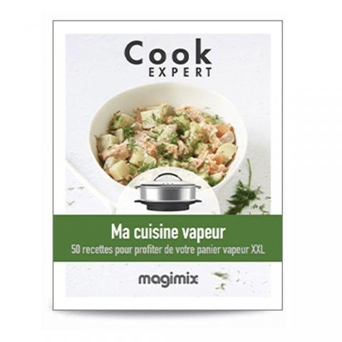 """Livre recettes """"Ma cuisine vapeur"""" MAGIMIX 461174"""