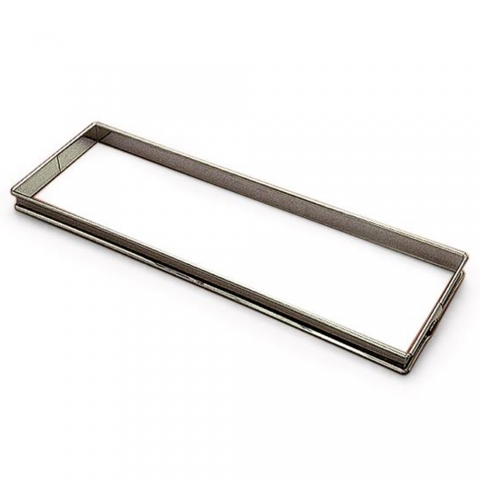 Cadre à tarte rectangle inox GOBEL 865310