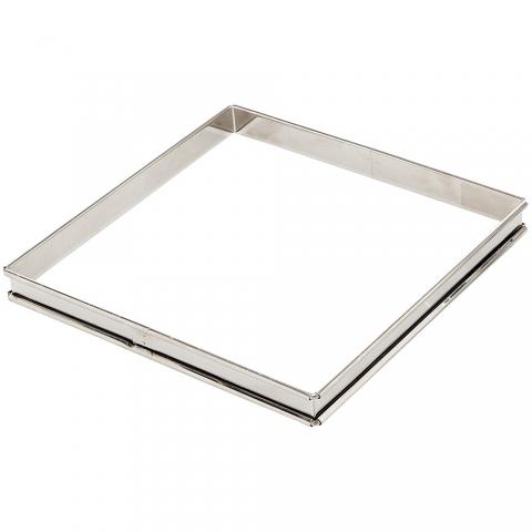 Cadre à tarte carré 20 CM inox GOBEL 865540