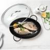 Couvercle en verre pour poêle à poisson revêtue BEKA 13949384