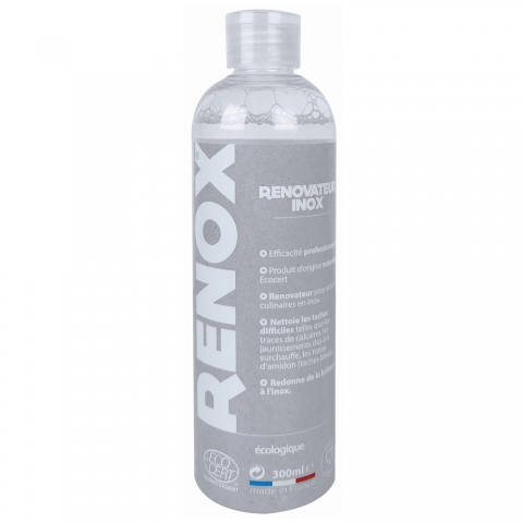 Nettoyant inox écologique Renox 300 ML CRISTEL NRXF3