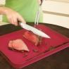 Planche à découper Cut&Carve Plus GM Rouge JOSEPH JOSEPH