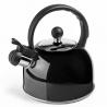 Bouilloire sifflante noire 2.5 L IBILI 610425N