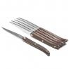 Set de 6 couteaux à steak Laguiole Evolution Sens Bois Foncé TB 30050017