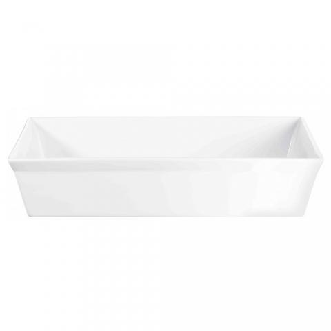 Plat à gratin rectangle 38 X 24 CM porcelaine 250° Plus ASA 52045017