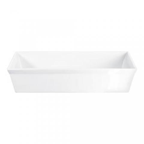 Plat à gratin rectangle 18 X 13.5 CM porcelaine 250° Plus ASA 52048017