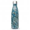 Bouteille isotherme Flowers Bleu QWETCH 500 ML QD3077