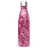 Bouteille isotherme Flowers Rose QWETCH 500 ML QD3078