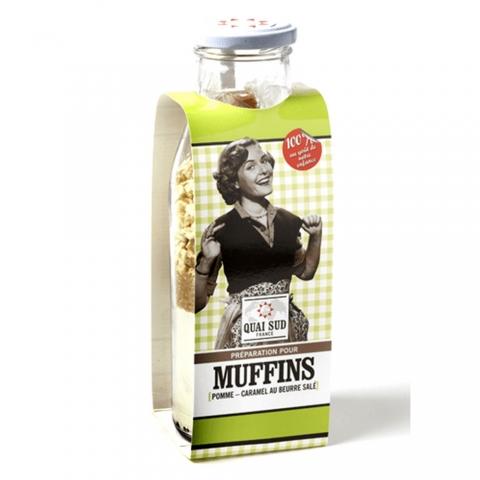 Préparation pour Muffins Pommes-Caramel Beurre Salé QUAI SUD 1PGMFPCDM