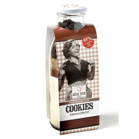Préparation pour Cookies Chocolat-Noisette QUAI SUD 1PGCOCNDM