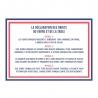 Coffret 6 gobelets Georges 24 CL LE VERRE FRANCAIS