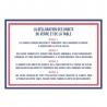 Coffret 6 gobelets Louis 25 CL LE VERRE FRANCAIS