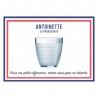 Coffret 6 gobelets Antoinette 31 CL LE VERRE FRANCAIS