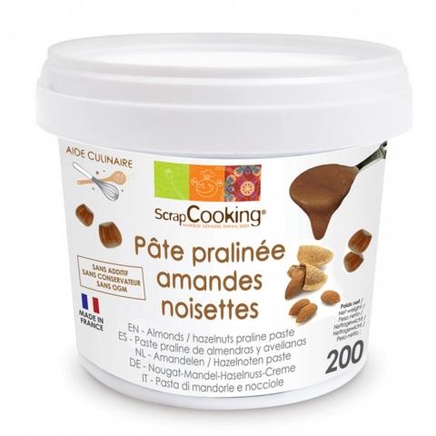Pâte de praliné amandes-noisettes 200 G SCRAPCOOKING 4499