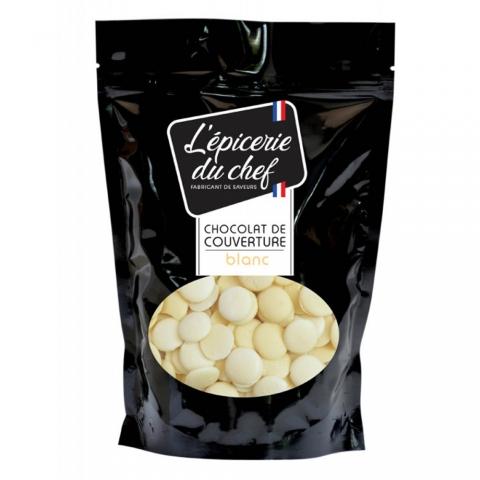 Palets de chocolat blanc 500 G L'EPICERIE DU CHEF EDC8634