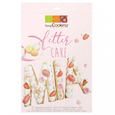 Letter Cake SCRAPCOOKING 3908