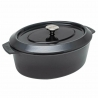 Roaster ovale Iron Carbon Grey 34 X 26 CM WOLL 3426CI-030