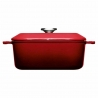 Faitout carré Iron Chili Red 24 CM WOLL 1024CI-010