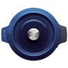 Cocotte ronde Iron Cobalt Blue 24 CM WOLL 124CI-020