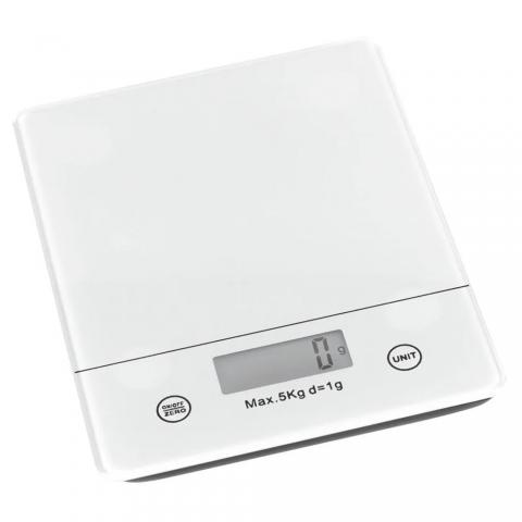 Balance électronique écran LCD Blanc TREND'UP