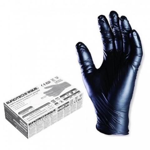 Gants en nitrile Noir X 100 ACCESS