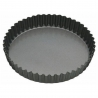 Moule à tarte dentelé fond amovible 25 CM MasterClass KITCHENCRAFT KCMCHB33
