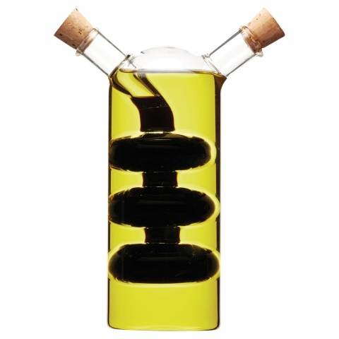 Bouteille à huile et vinaigre Italian Collection World of Flavors KITCHENCRAFT WFITCRUET100
