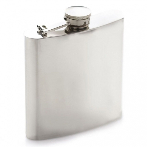 Flasque 170 ML inox BarCraft KITCHENCRAFT BCHIP