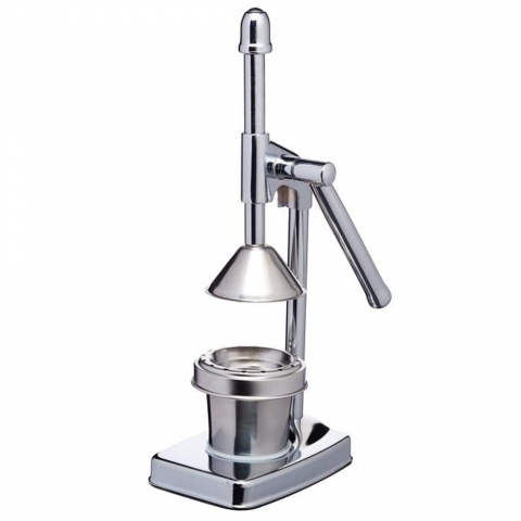 Presse-agrumes à levier inox Deluxe MasterClass KITCHENCRAFT KCJUICEDL